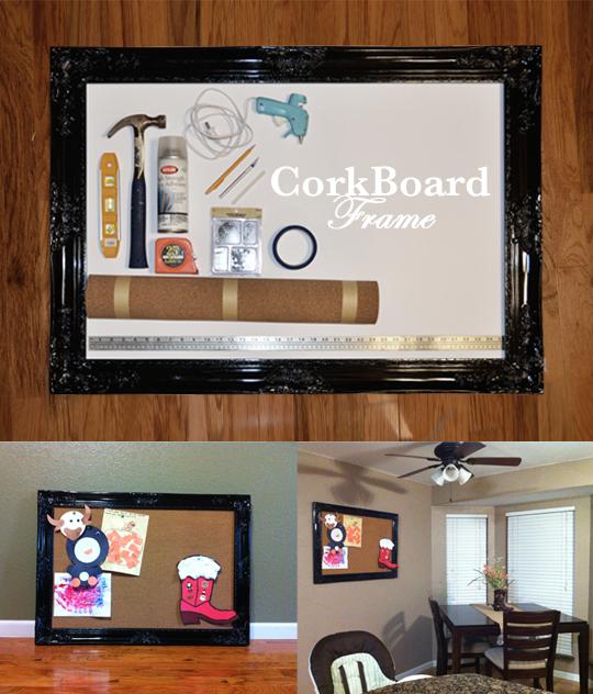 Cork Board Frame Tutorial