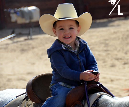 Lil' Cowboy in Training