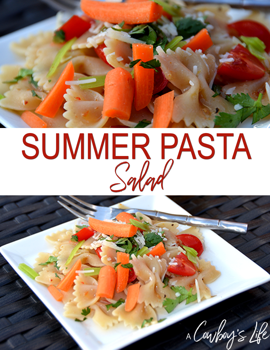 How to make this delicious summer pasta salad