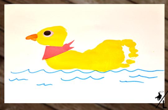 footprint duck craft