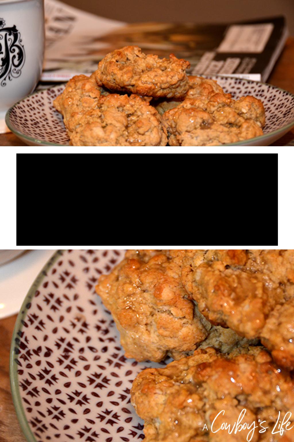Baked maple oat scones #bakedscones #scones