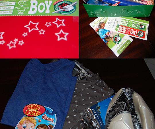 Give The Gift of Christmas {Operation Christmas Child}