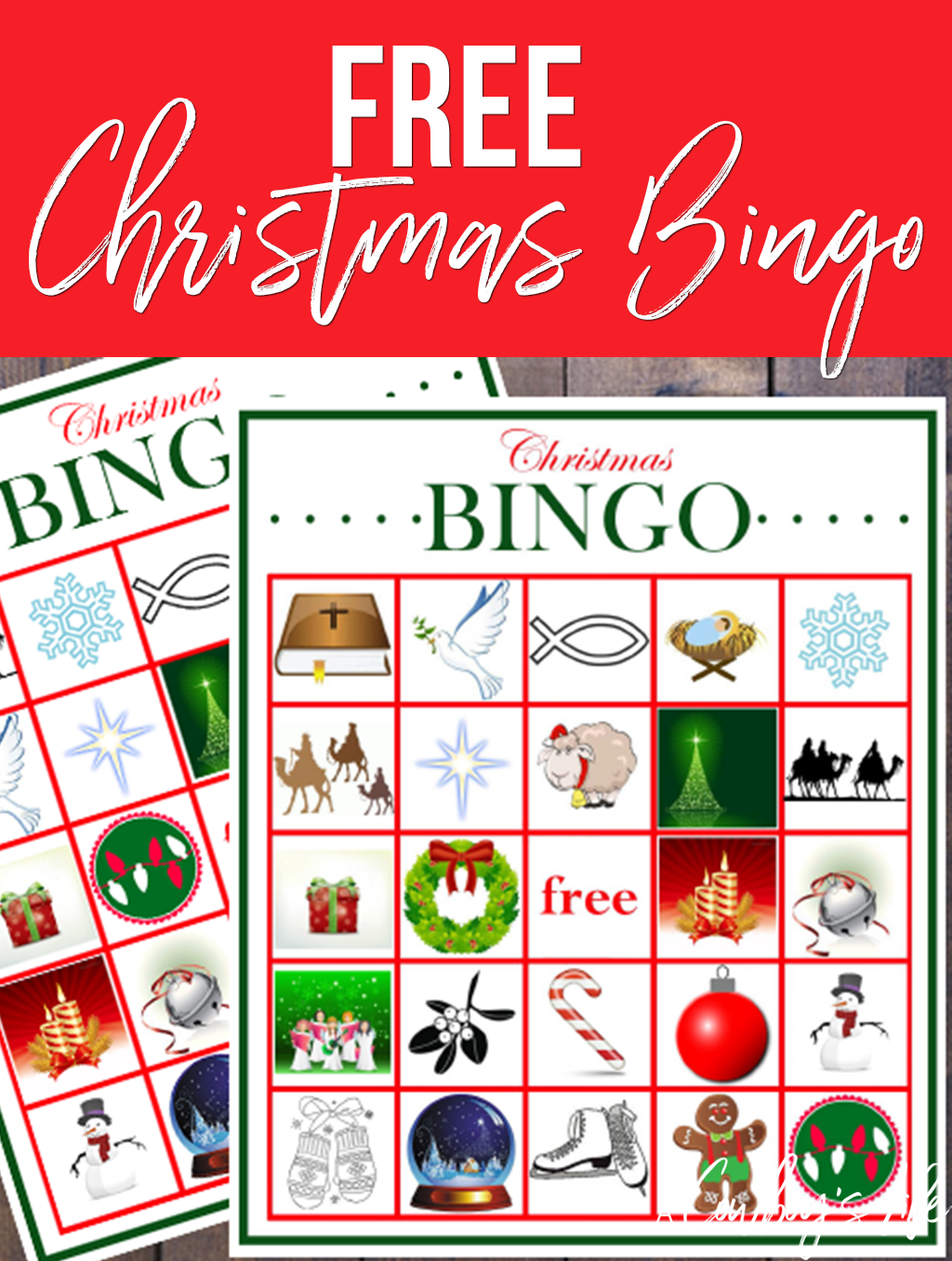 photograph about Christmas Bingo Free Printable identify Absolutely free Printable Xmas Bingo - A Cowboys Everyday living