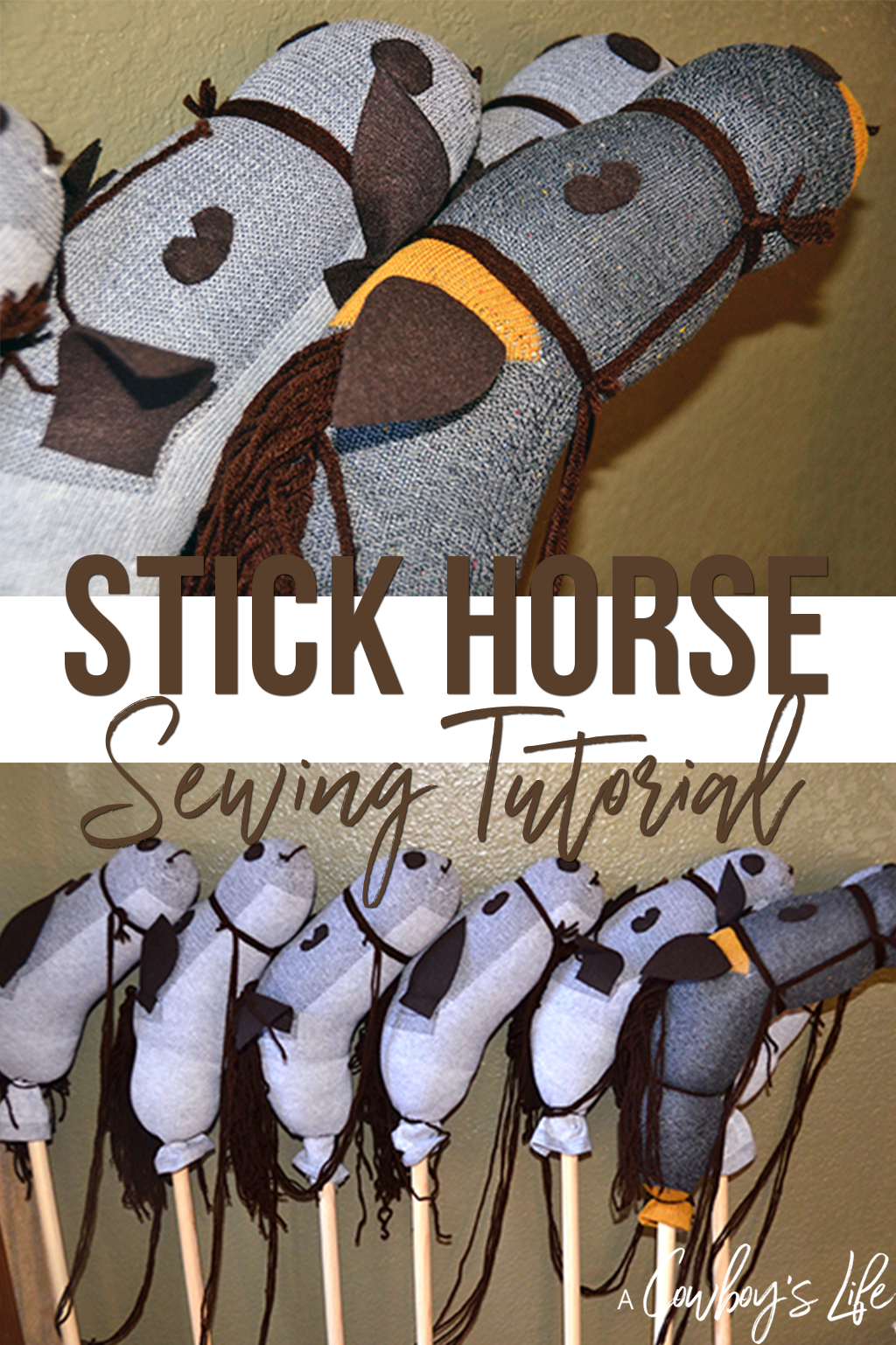 How to make a stick horse