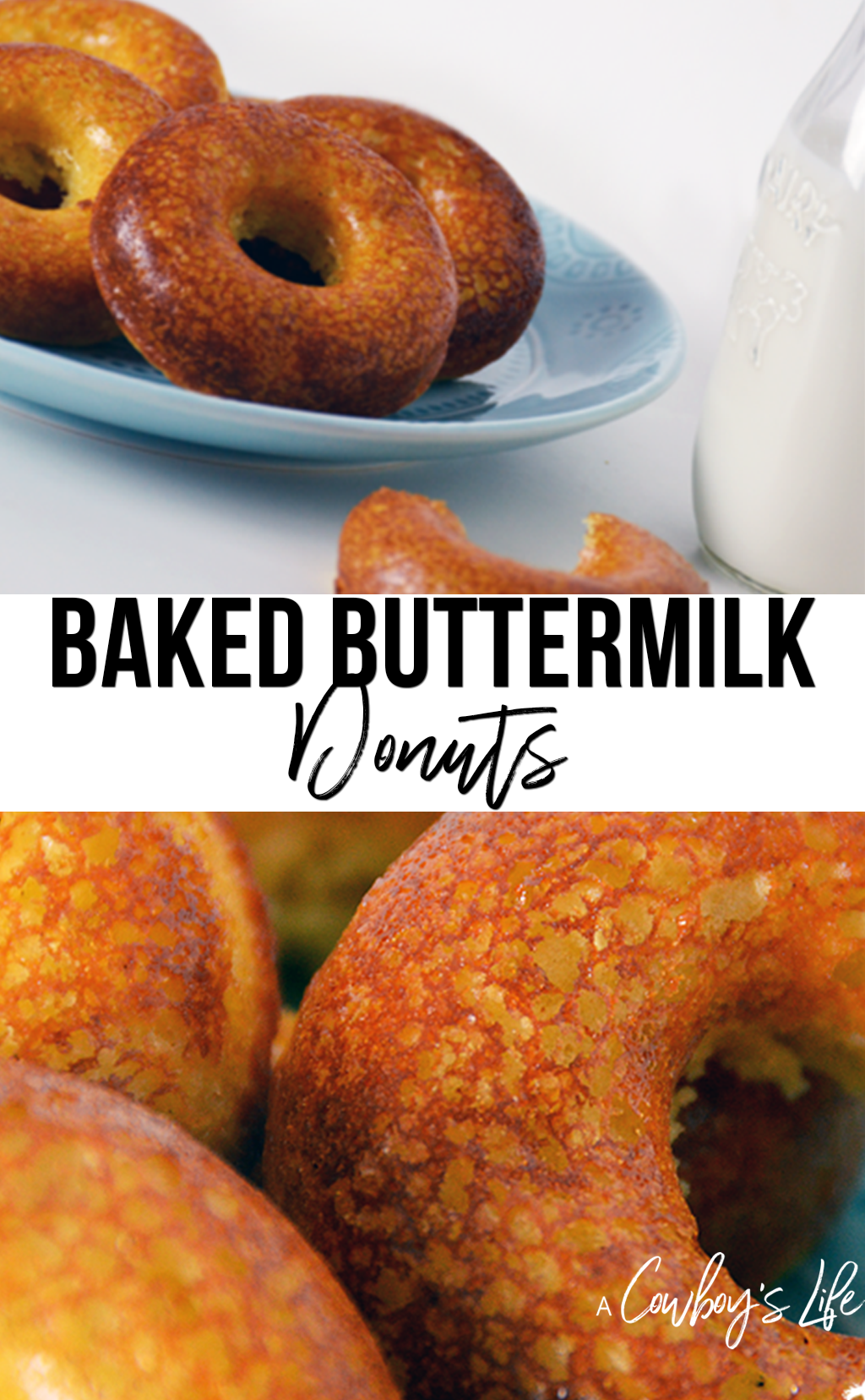 How to make baked buttermilk donuts
