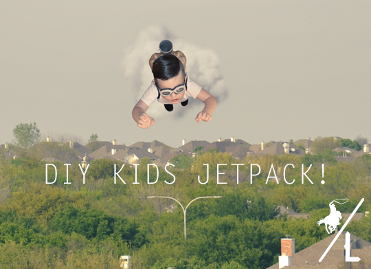 DIY Kids Jetpack