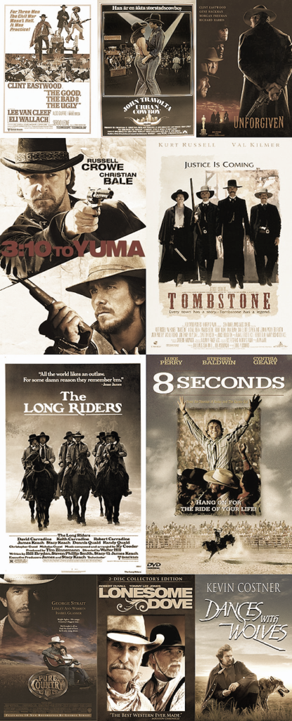 Top 10 country western movies