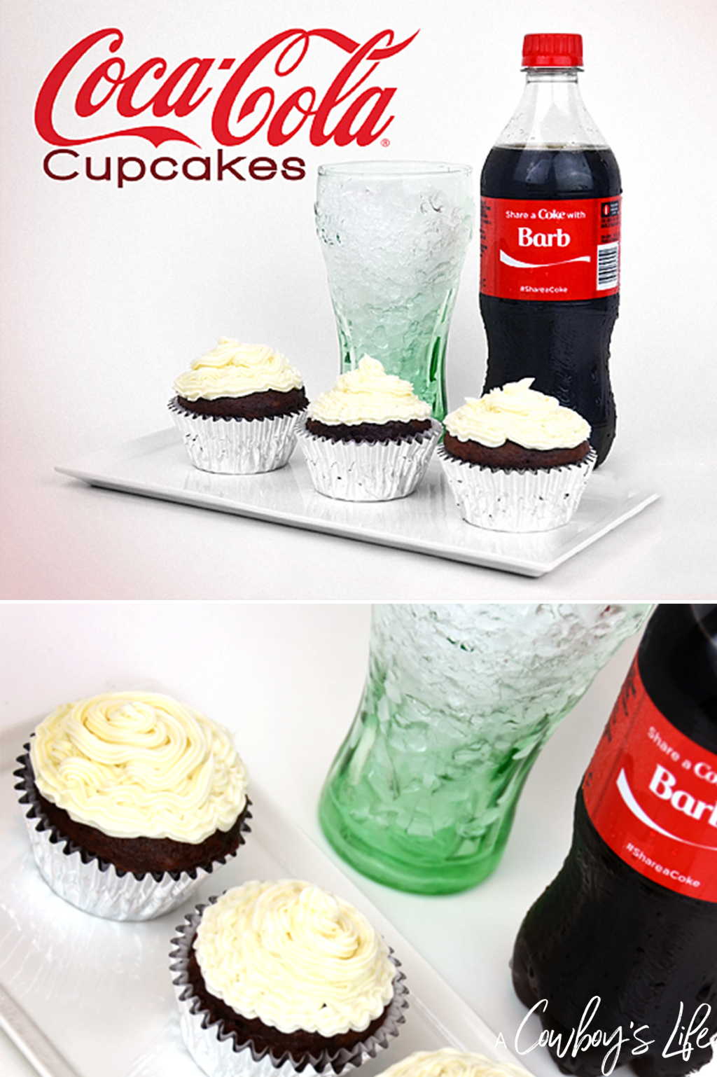 How to make Coca-Cola cupcakes