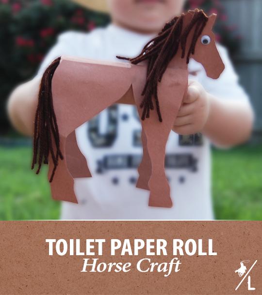 Horsin' Around Toilet Paper Craft