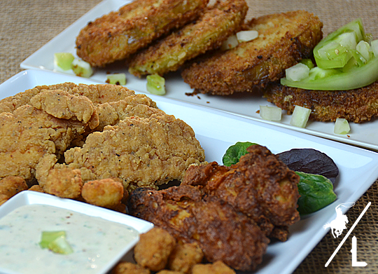 Southern Fried Green Tomatoes