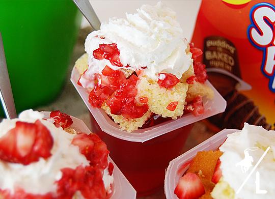 Snack Pack Strawberry Shortcake
