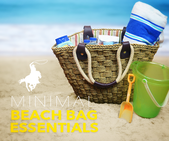 The Minimal Beach Bag Essentials