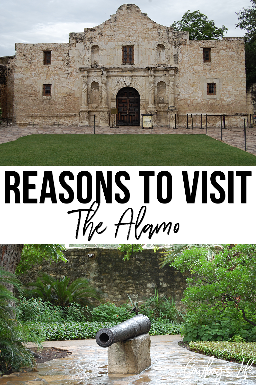 Guide to visiting the Alamo
