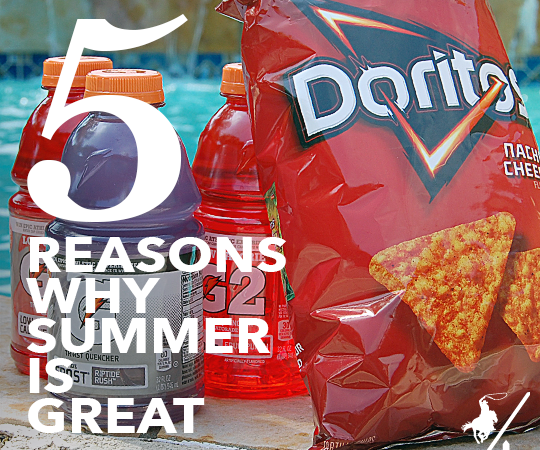 5 Reasons Why Summer Is Great