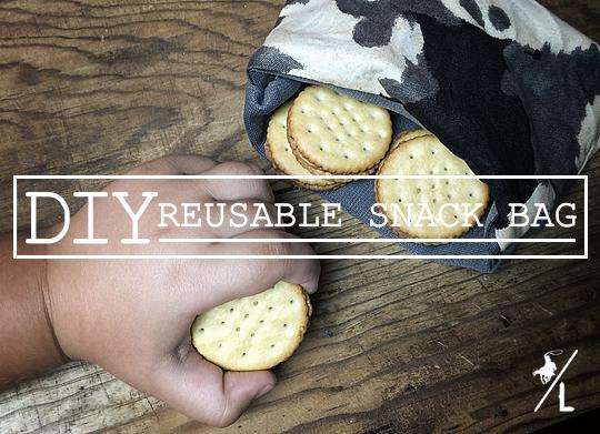 DIY Reusable Snack Bag