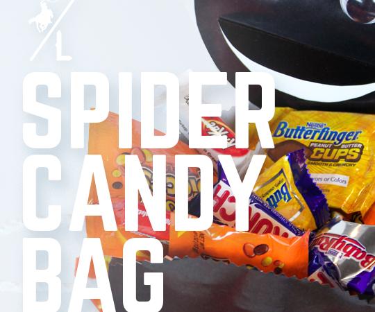 DIY Spider Candy Bag