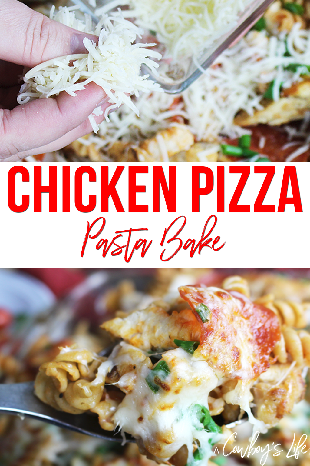 Chicken Pizza Pasta #pizzabake #dinneridea #pizza