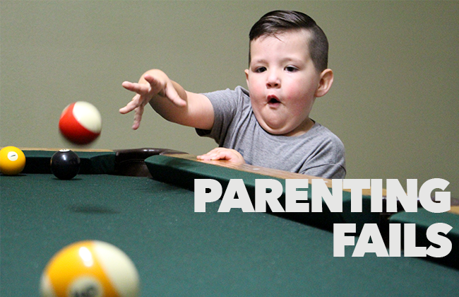Parenting Fails