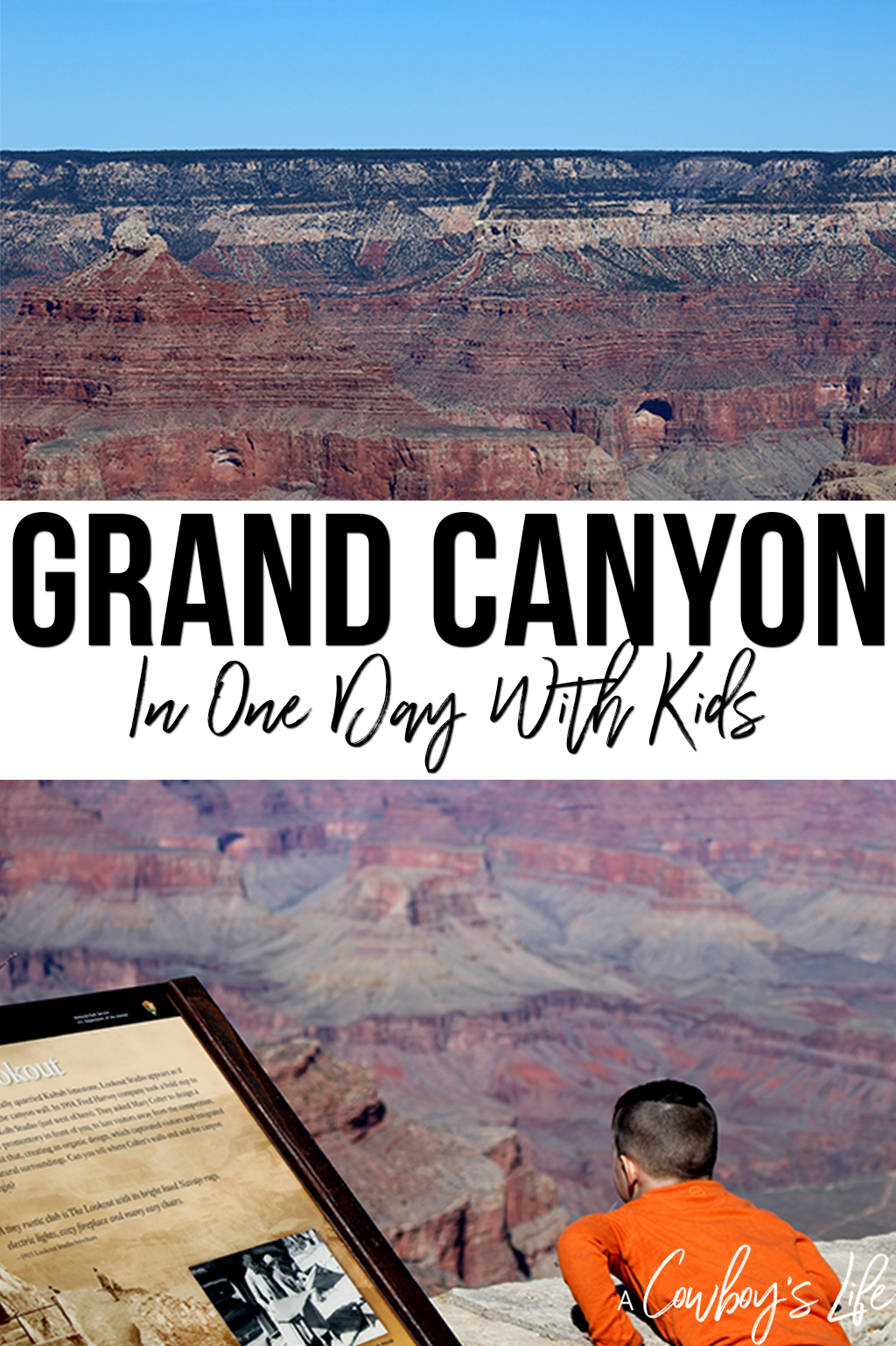 Tips for visiting the Grand Canyon with kids #grandcanyon #familytravel