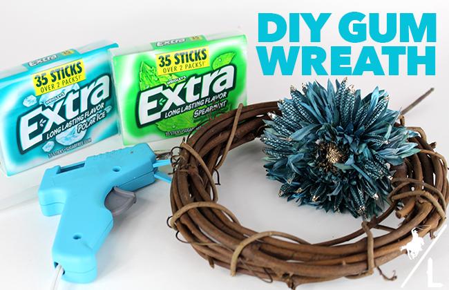 DIY Gum Wreath