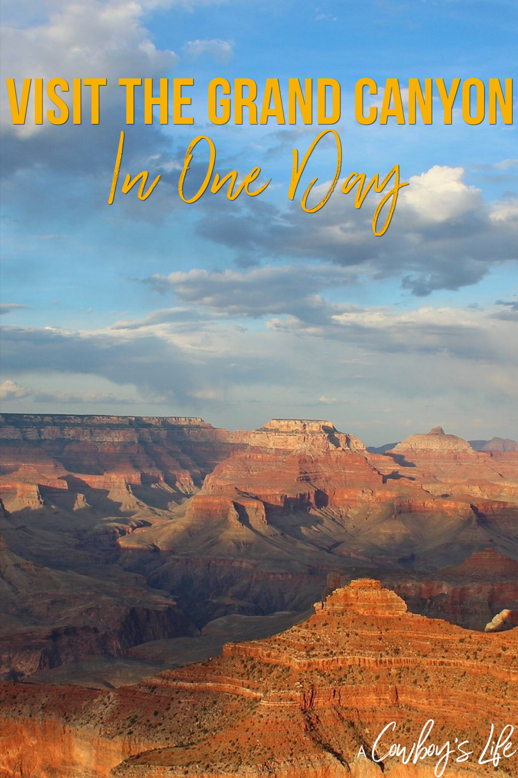 Visit the Grand Canyon in One Day