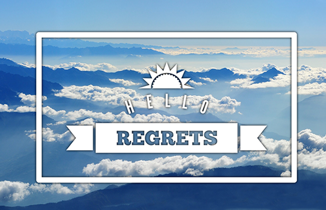 Things I Regret