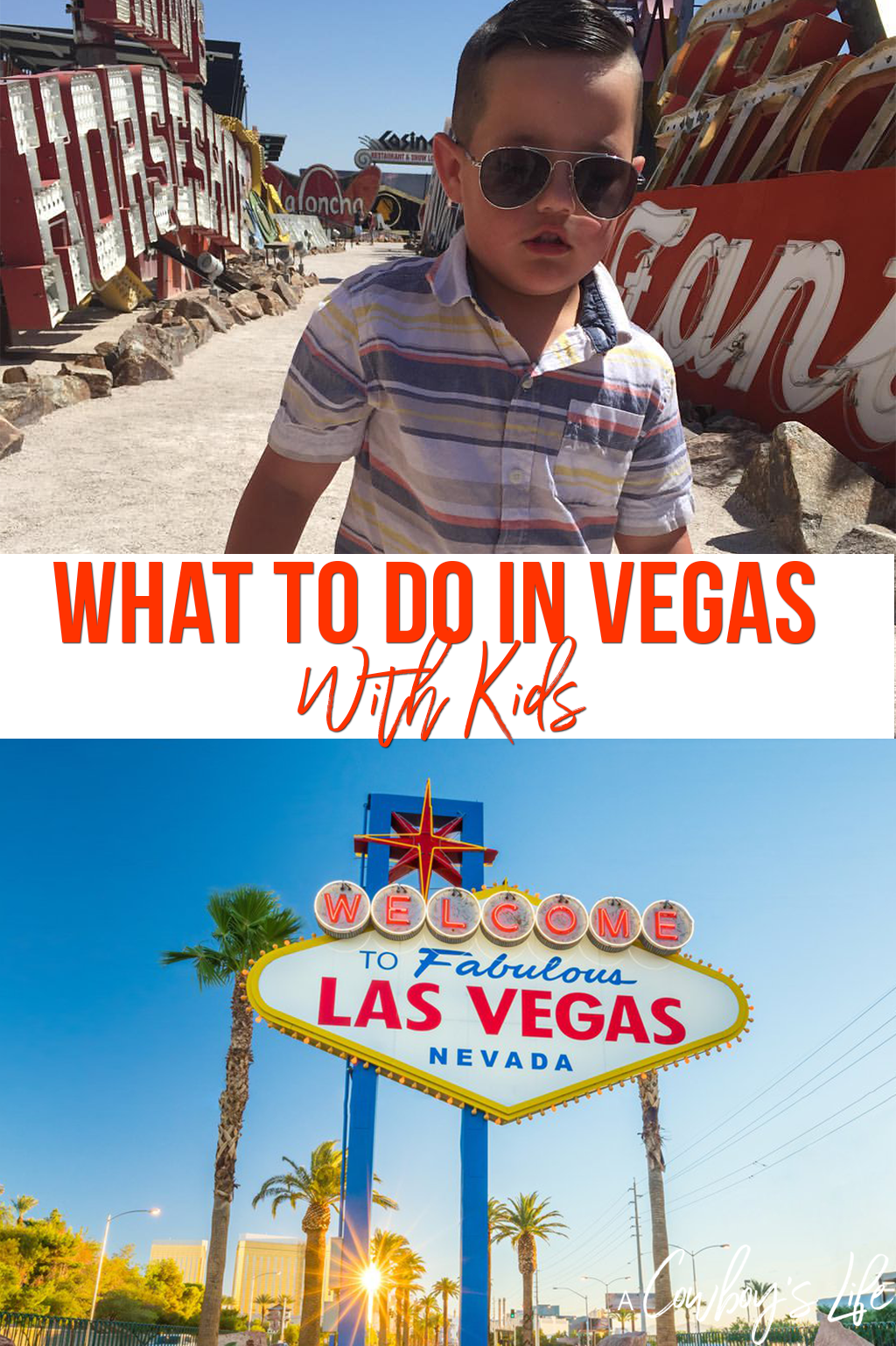The ultimate guide of what to do in Las Vegas with kids