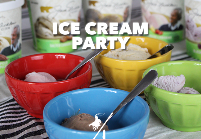 Ice Cream Party + $100 Giveaway