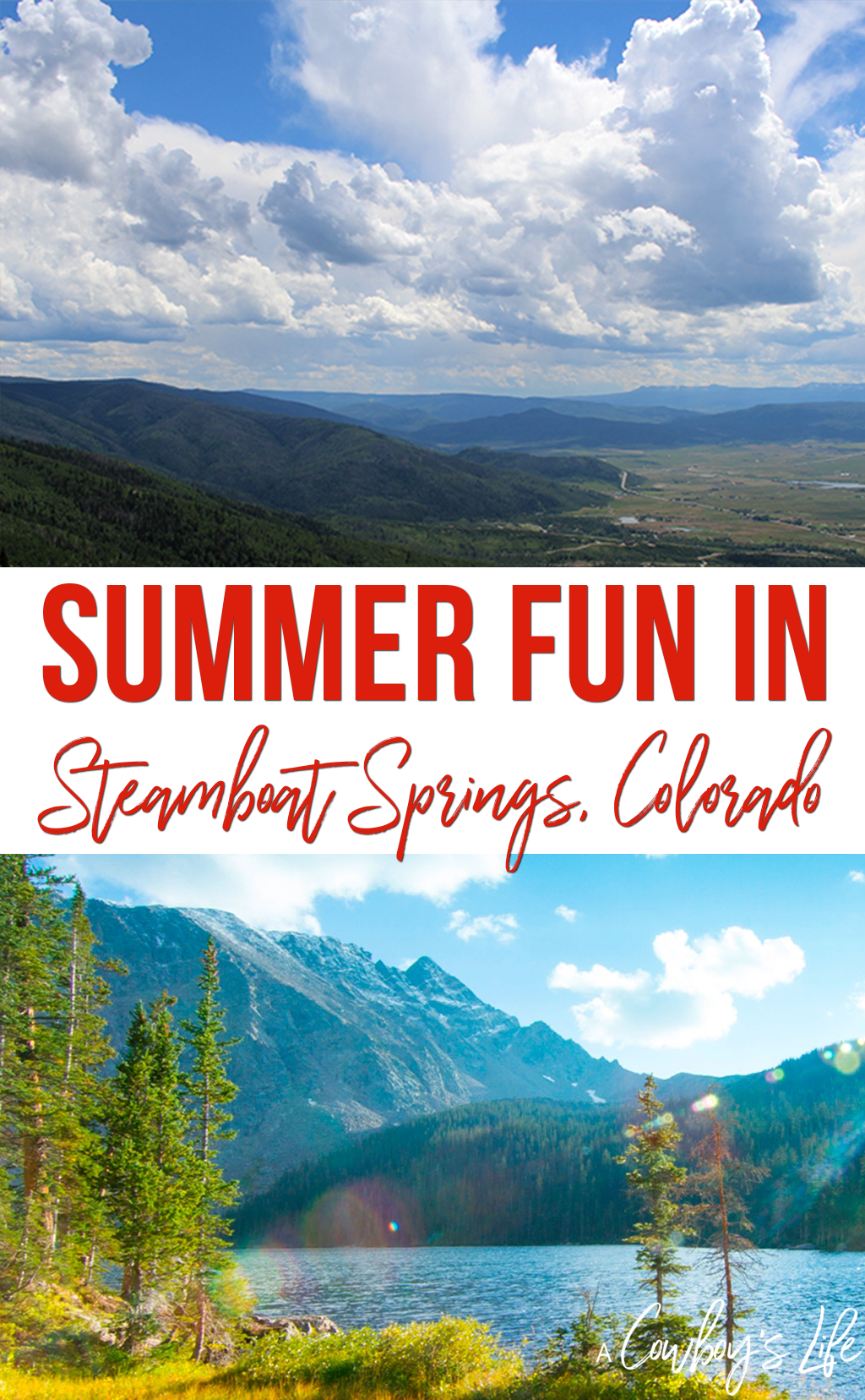 A guide to summer fun in Steamboat Springs, Colorado