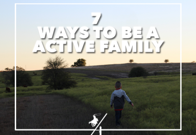 7 Ways to be Active As a Family
