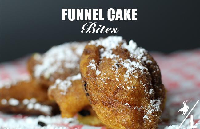 Funnel Cake Bites