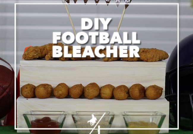 #ad DIY FOOTBALL BLEACHER