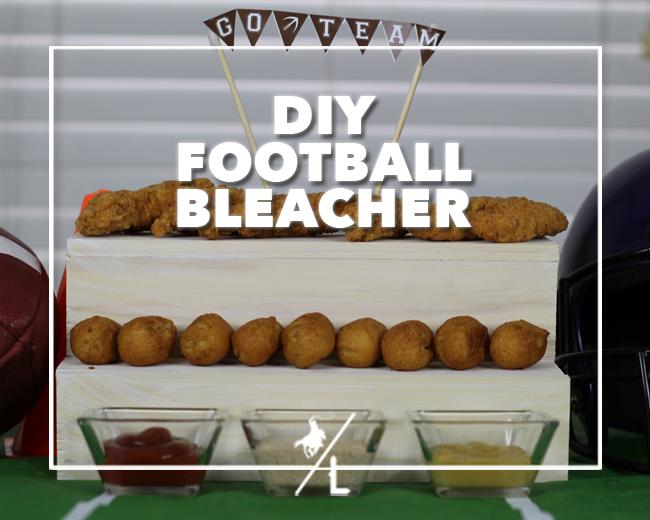 DIY FOOTBALL BLEACHER