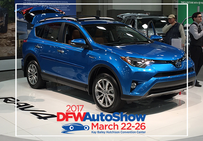 DFW Auto Show + Giveaway