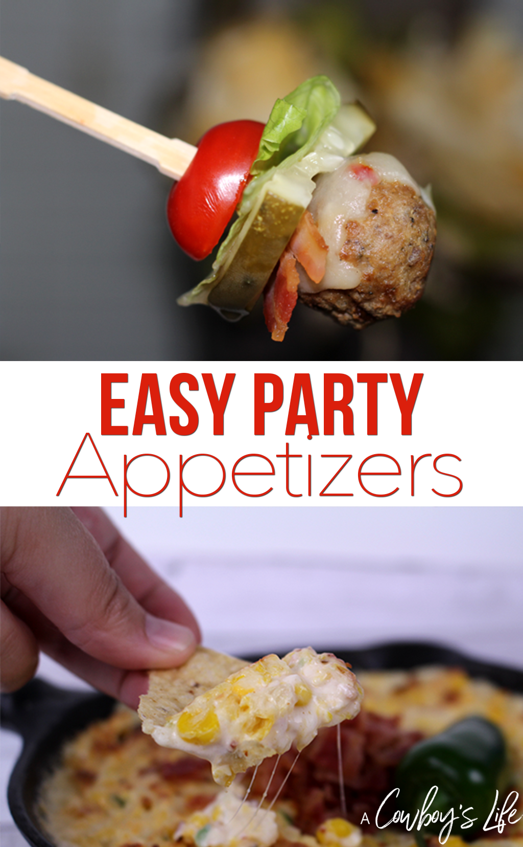 Appetizers | party food | snack food | finger foods | chips and dip | meatballs  #partyfood #entertaining #appetizer