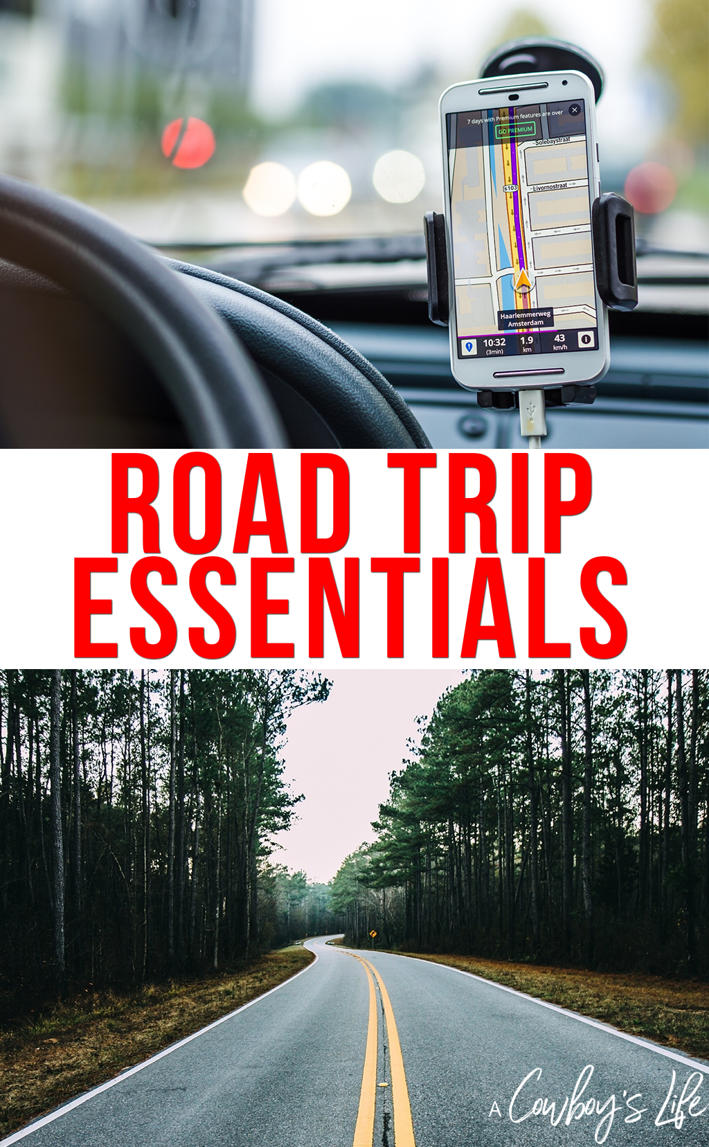 Pack these road trip essentials to make sure you have an epic trip! #roadtrip #traveltips #vacationplanning