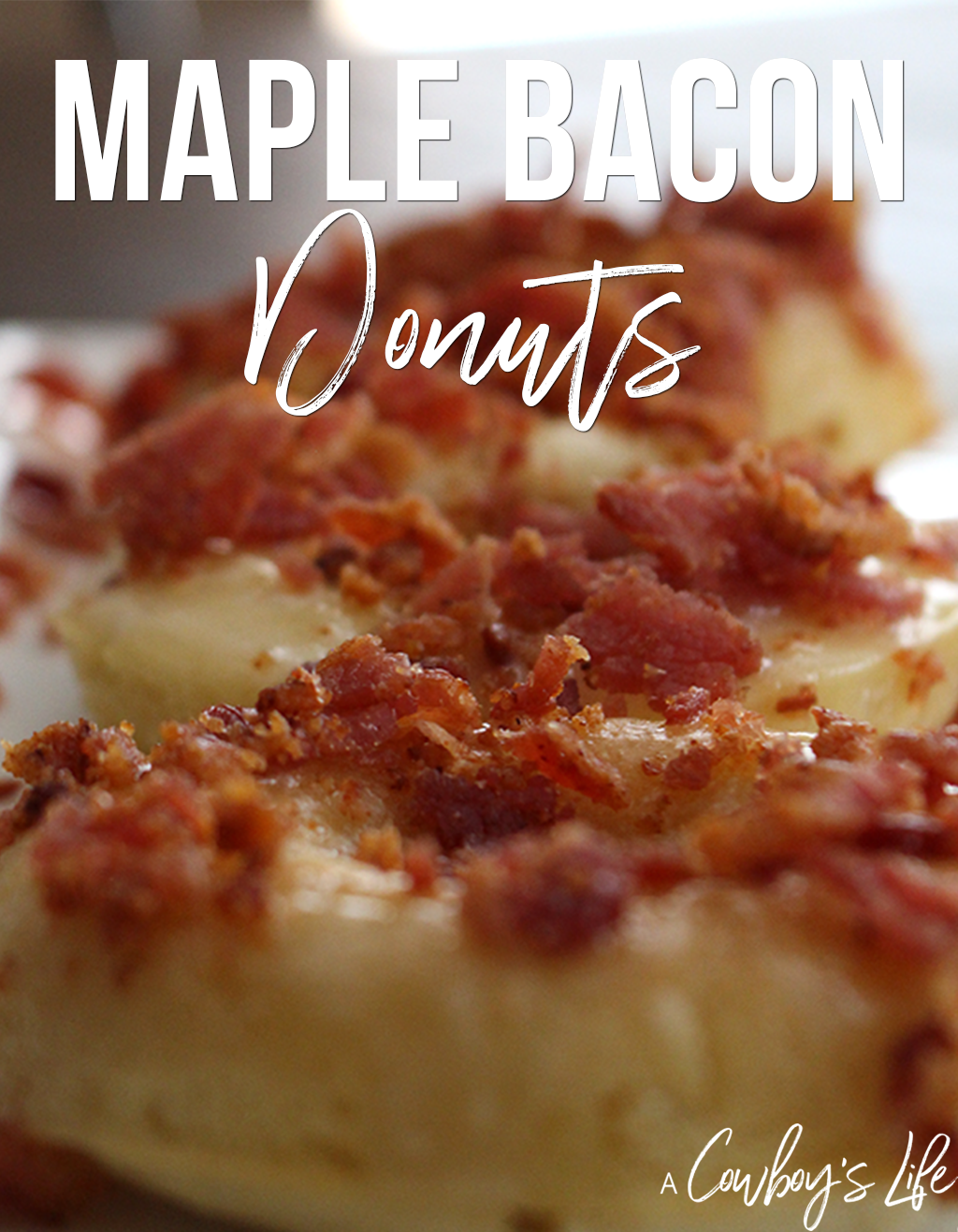 How to make Maple Bacon Donuts
