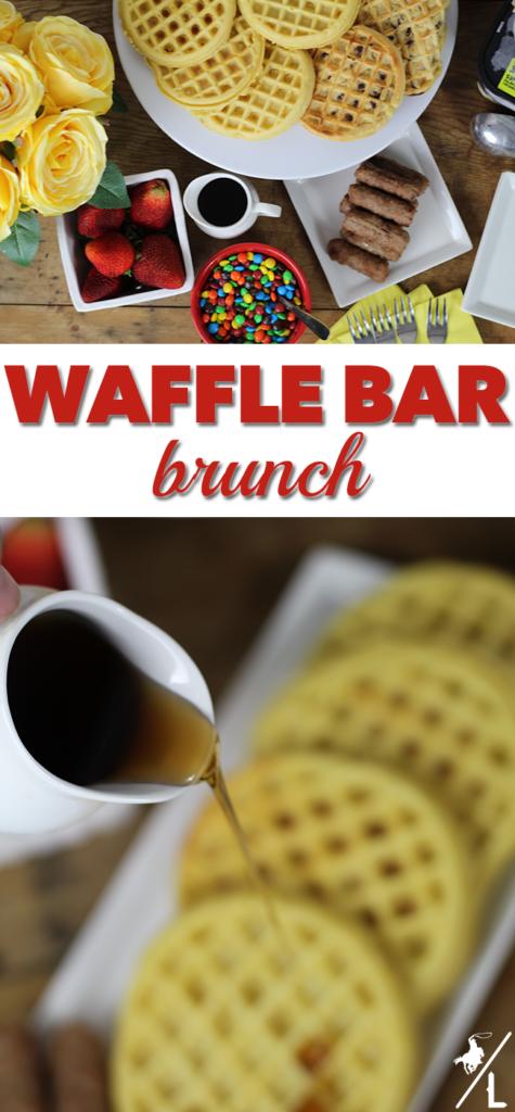 Waffle Bar Brunch