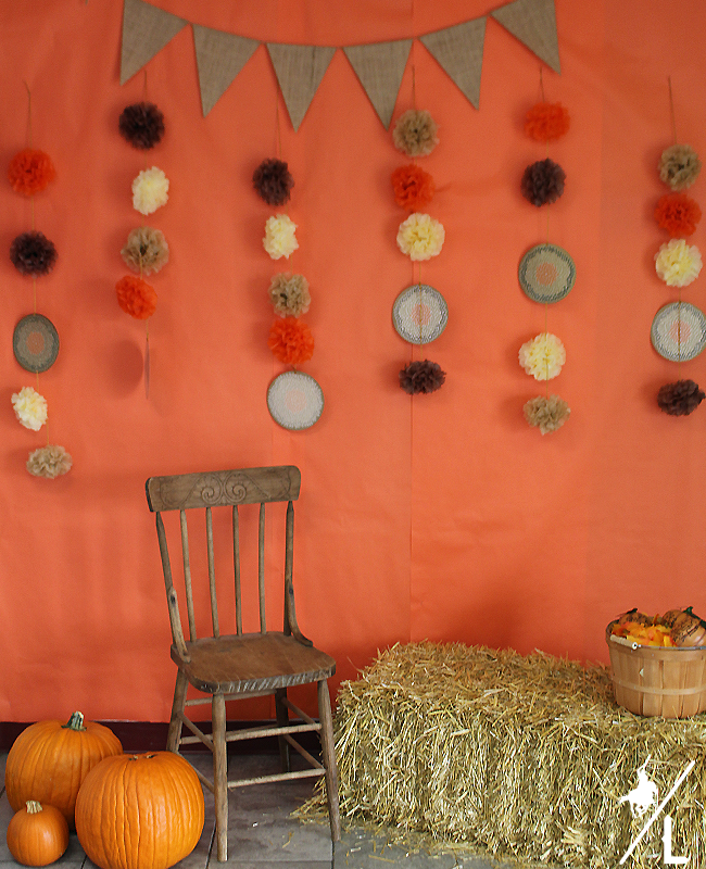 Thanksgiving Themed Photo Booth