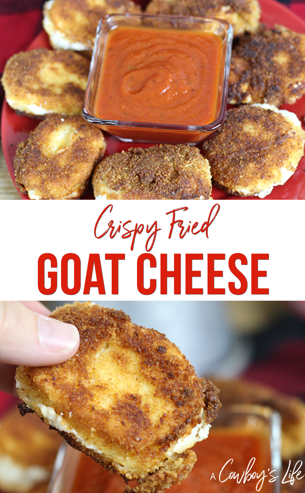 Crispy Fried Goat Cheese