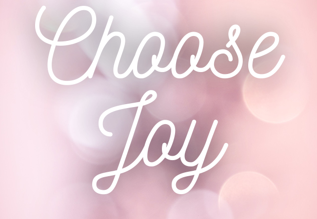 Word of the year – JOY