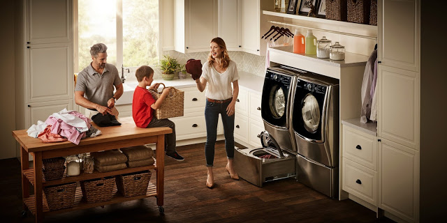 Laundry Made Easy with LG's TwinWash System