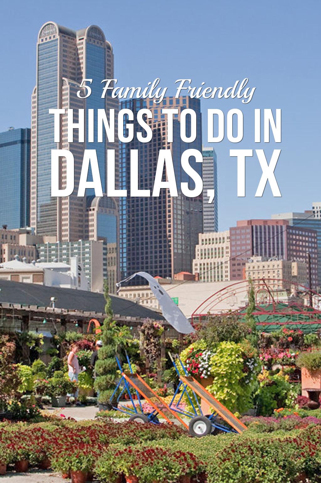 5 Family Friendly Events in Dallas
