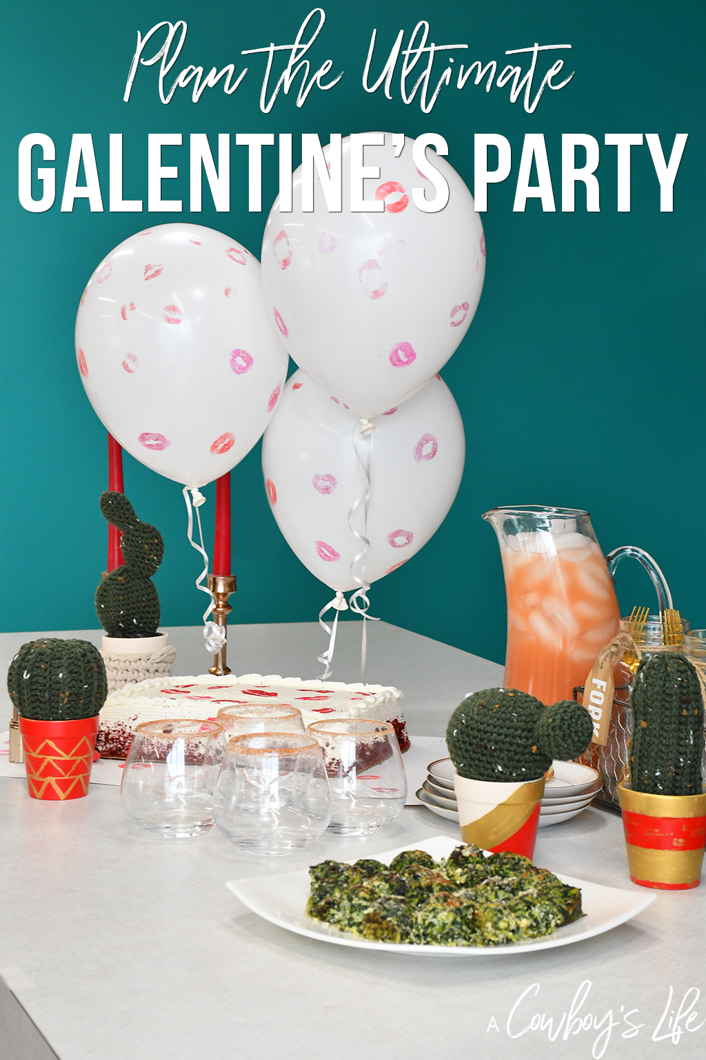 Grab your friends and show them how much they mean to you with a Galentine's soiree. This Jalapeño Grapefruit mocktail is a great way to spice up the party.