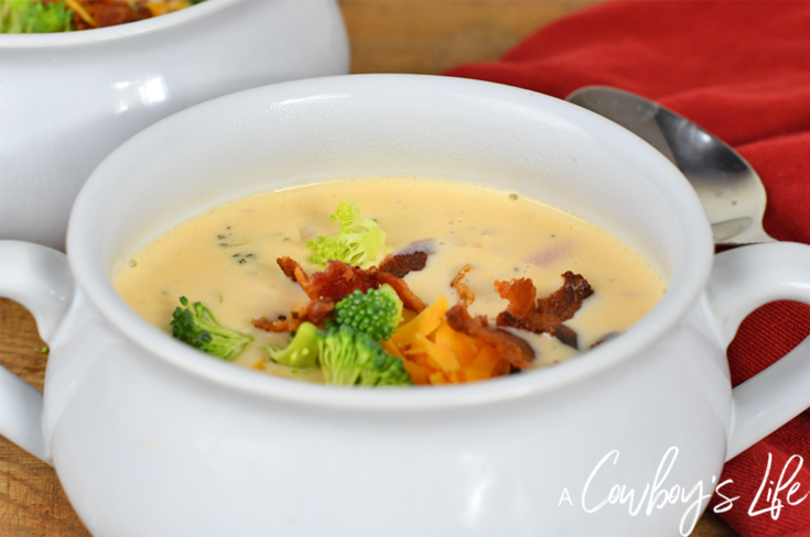 Keto Bacon Broccoli Cheese Soup