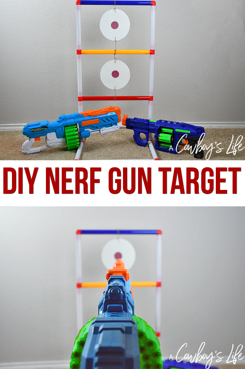 How to make a DIY Nerf gun target