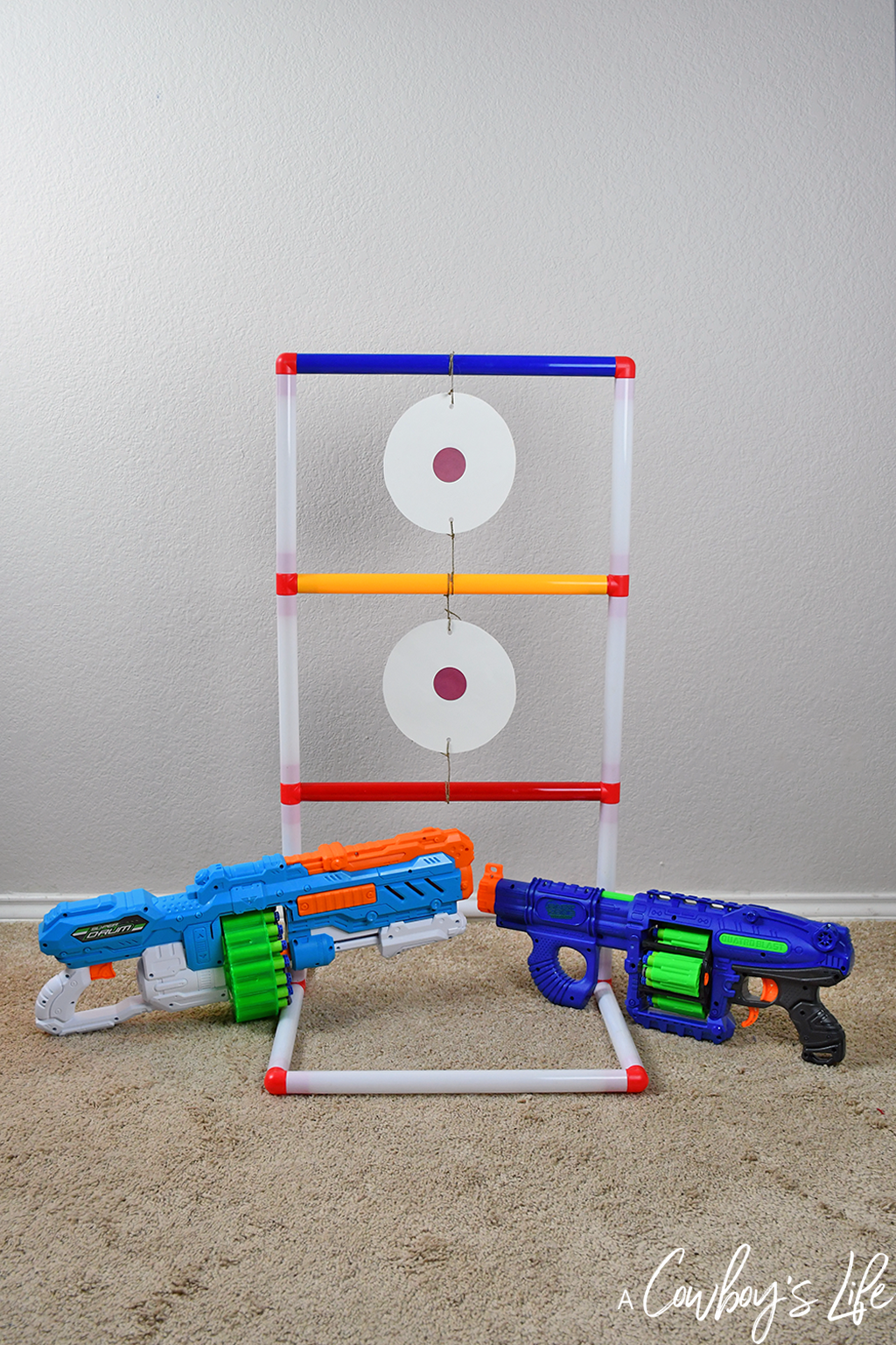 DIY Nerf Target