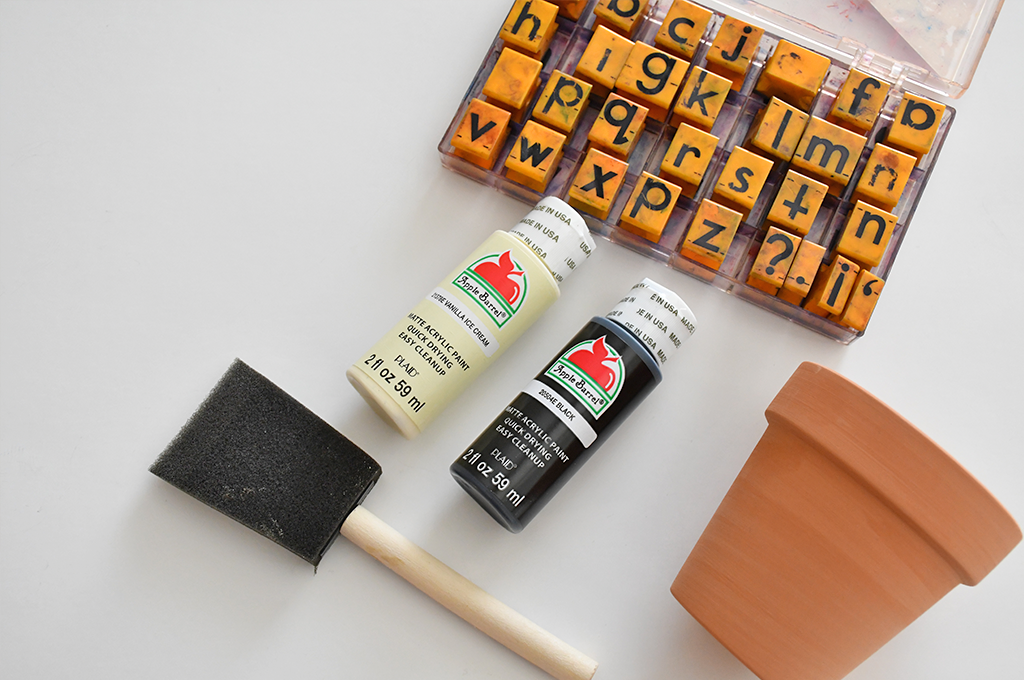 How to make DIY painted pots
