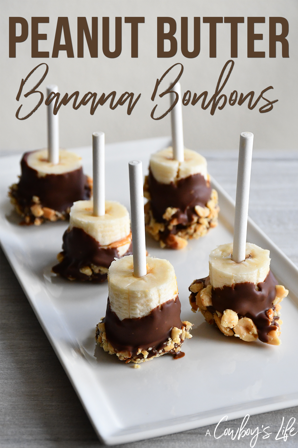 How to make Peanut Butter Banana Bonbons