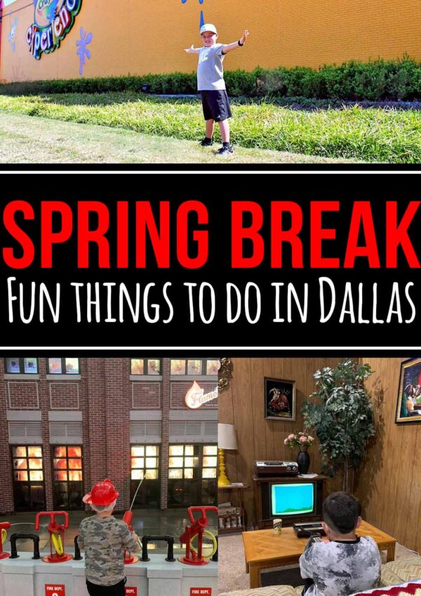 DFW spring break ideas